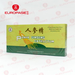 PANAX GINSENG EXTRACTUM 10X10CC TOTAL CONTENTS 100ML