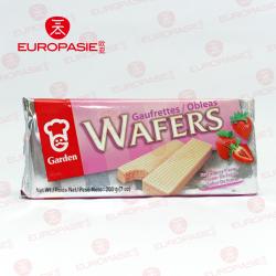 GAUFRETTES WAFFRS SAVEUR DE FRAISE 200G