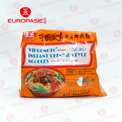 INSTANT CHINESE STYLE NOODLES ARTIFICIAL BEEF FLAVOR